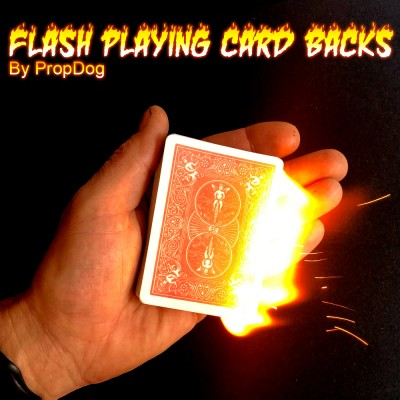 Flash Playing Card Backs - by PropDog