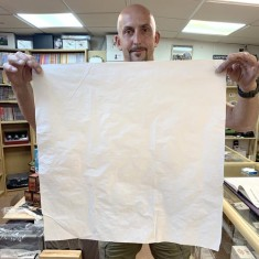 Flash Paper (Giant 60cm x 60cm sheet) - Standard White