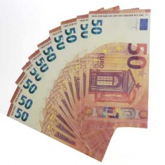 Flash 50 Euro Banknotes