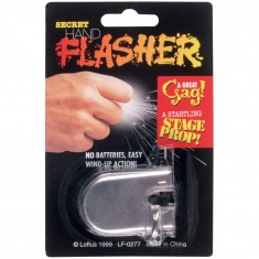 Secret Finger Flasher