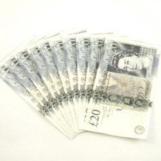 Flash 20 Pound Banknotes