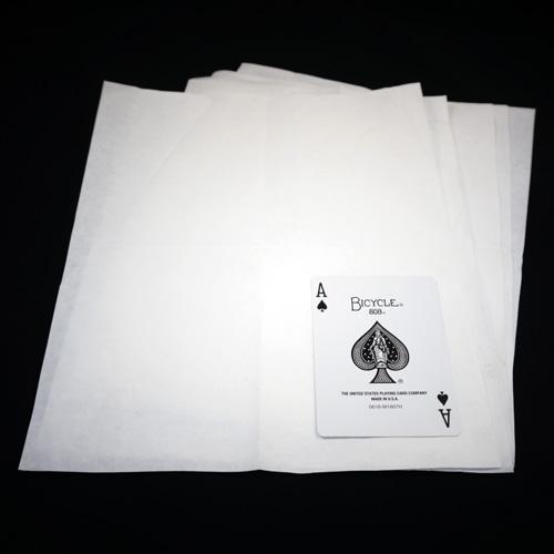 Flash Paper - Thick White