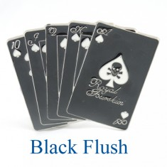 Black Flush Belt Buckle