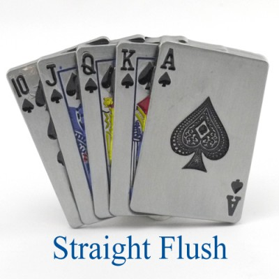 Straigh Flush Belt Buckle