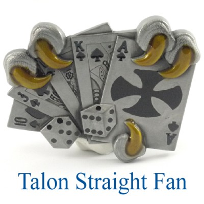 Talon Straight Fan Belt Buckle