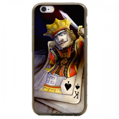 Cool King of Spades Case for iPhone 6, 6S and 7