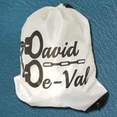Limited Edition David De-Val Drawstring Bag by PropDog