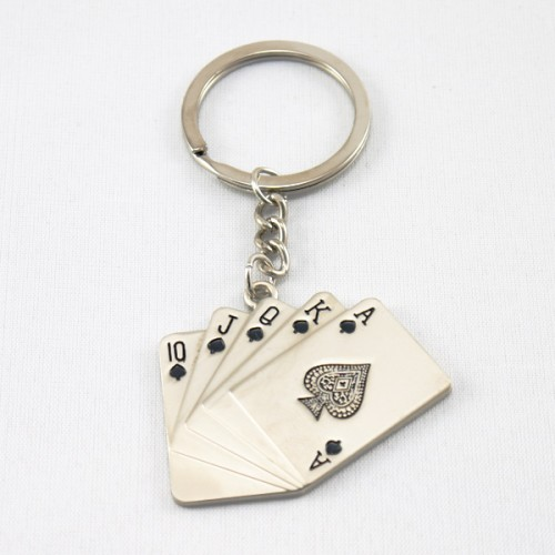 Card Fan Keyring