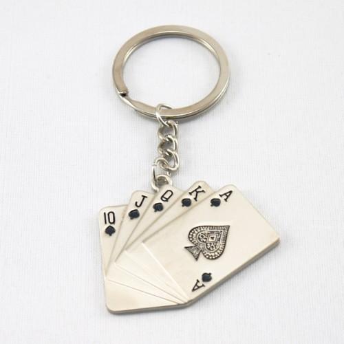 Card Fan Keyring