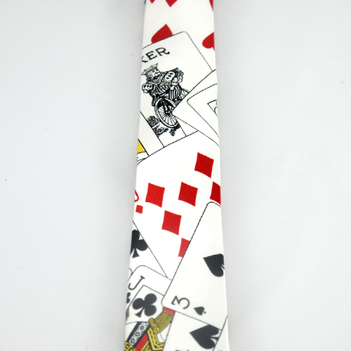 playing card tie