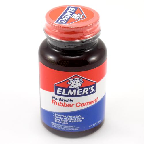 Rubber Cement (4oz-118ml)