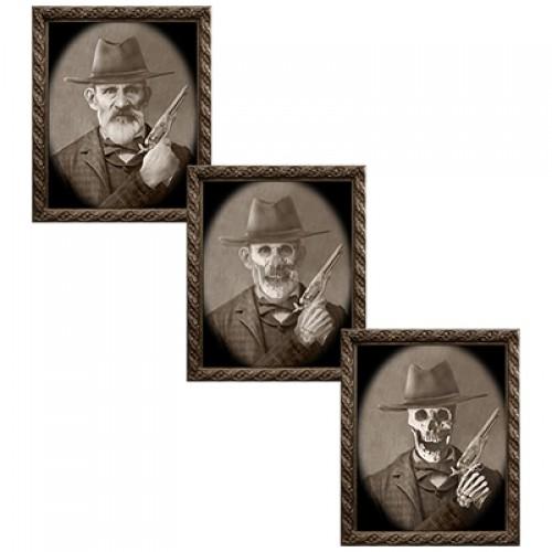 Changing Portrait - Uncle Jed by Eddie Allen (5 x 7)