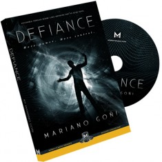 Defiance by Mariano Goni (DVD and Gimmick)