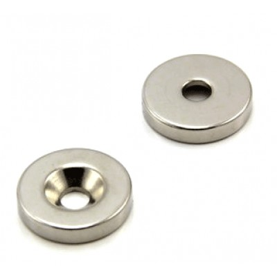 * Neodymium Magnet Size 19mm x 5mm Disc with 5mm Hole *