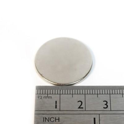 * Neodymium Magnet Size 25mm x 1.5mm Disc