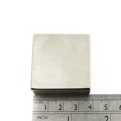 * Neodymium Magnet Size 38mm x 38mm x 15mm Block