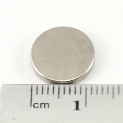 Neodymium Magnet Size 12mm x 2mm Disc