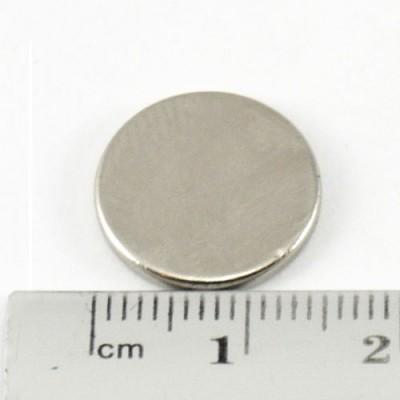 * Neodymium Magnet Size 15mm x 2mm Disc
