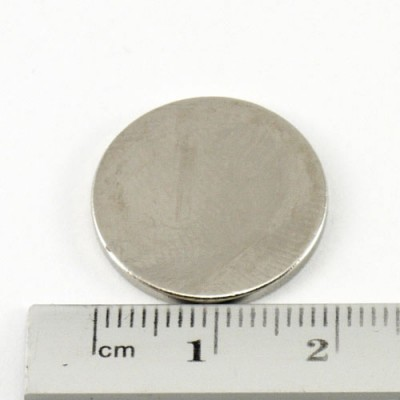 * Neodymium Magnet Size 20mm x 1.5mm Disc