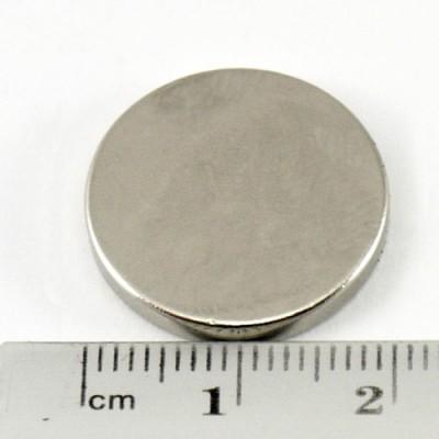 * Neodymium Magnet Size 19mm x 3mm Disc