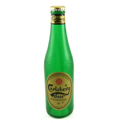 Nielsen Vanishing Carlsberg Beer Bottle  - Extra Label
