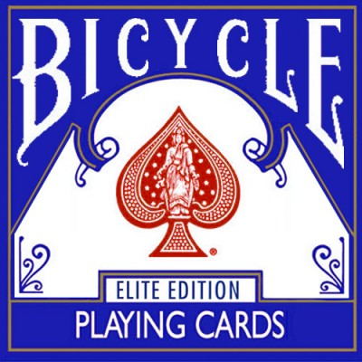 Bicycle Elite Playing Cards - Blue
