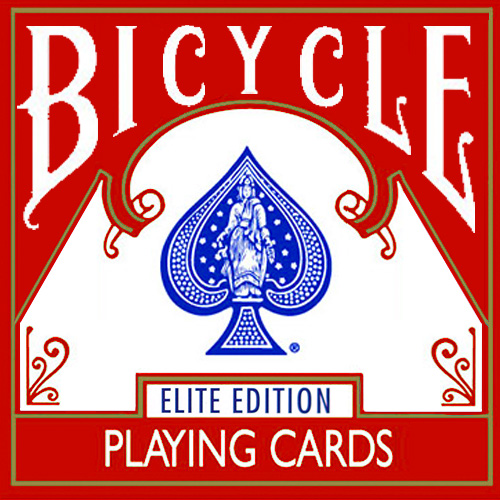 Bicycle Elite Playing Cards - Red