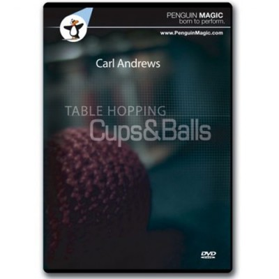Table Hoping Cups and Balls - Carl Andrews