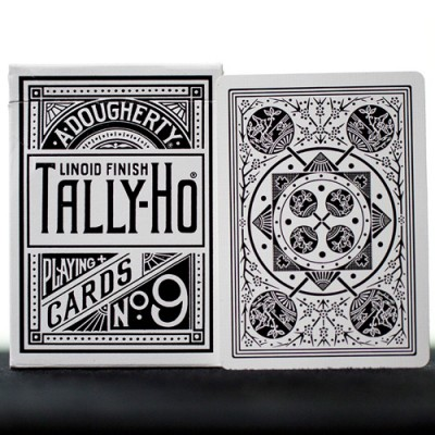 Tally Ho Fan Back - White