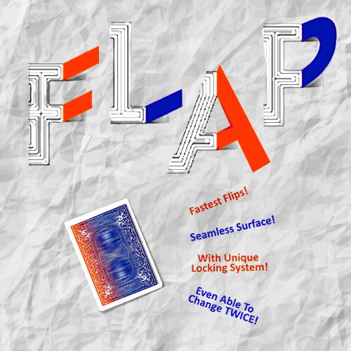 Modern Flap Card by Hondo Chen