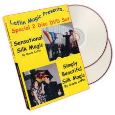 Sensational Silk Magic and Simply Beautiful Silk Magic by Duane Laflin