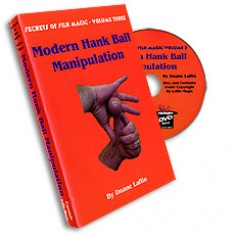 Modern Hank Ball Manip. Laflin series 3 Video DVD