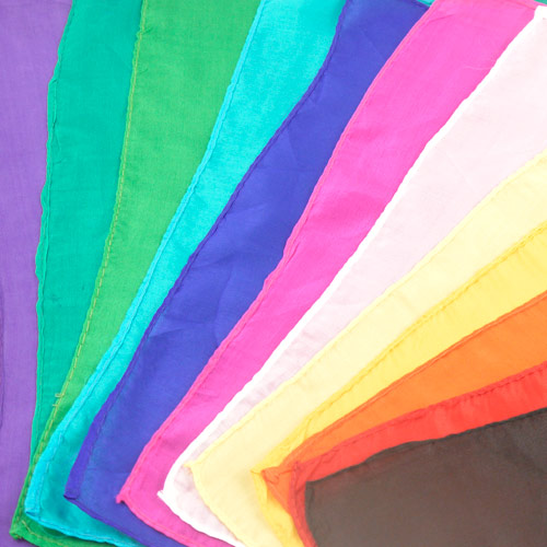 """Square Silks - approximately 18"""""""