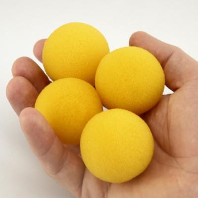 "1.5"" Super Soft Sponge Balls - Yellow"