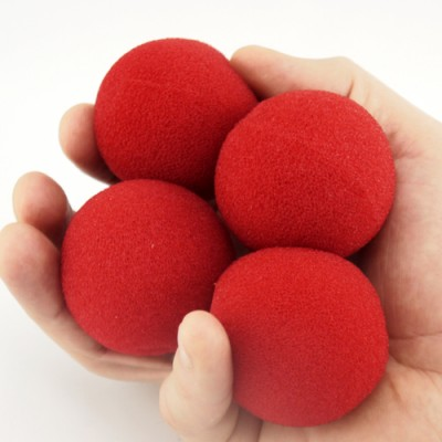 "2"" Regular Sponge Ball by Goshman - Red"