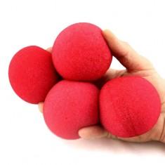 "3"" Super Soft Sponge Balls by Goshman - Red"