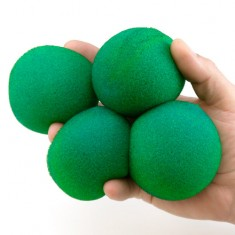 "3"" Super Soft Sponge Balls by Goshman - Green"