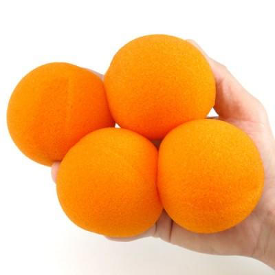 "3"" Super Soft Sponge Balls by Goshman - Orange"