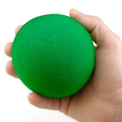 "4"" Super Soft Sponge Ball - Green"