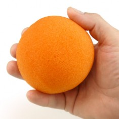 "4"" Super Soft Sponge Ball - Orange"