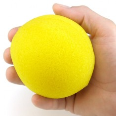 "4"" Super Soft Sponge Ball - Yellow"