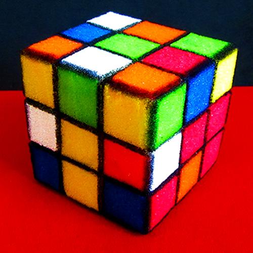 Sponge Rubik's Cube