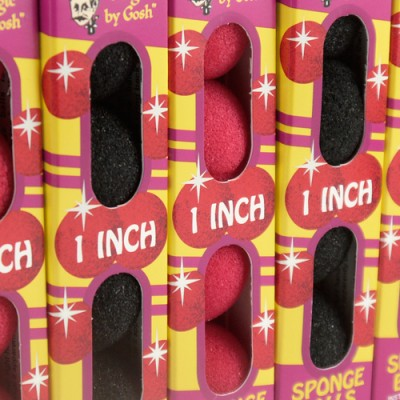 1 Inch Regular Sponge Balls