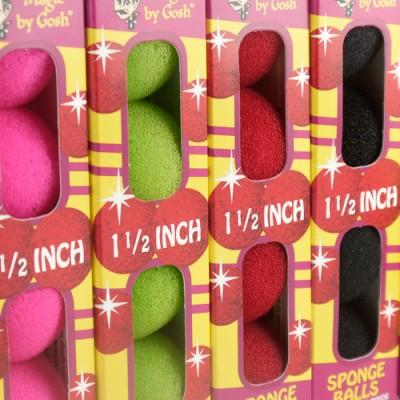 1.5 Inch Regular Sponge Balls