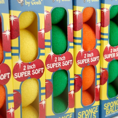 Supersoft Sponge Balls