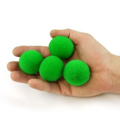 "1.5"" Ultra Soft Sponge Ball by Goshman - Green"