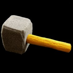 Sponge Mallet/Hammer by Alexander May