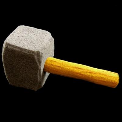 Sponge Mallet/Hammer by Alexander May