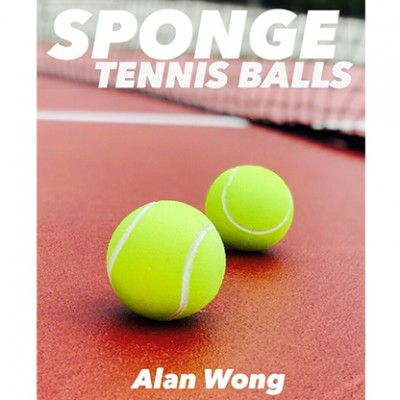 Sponge Tennis Balls by Alan Wong - Pack of 3