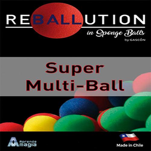 Super Multi Ball by Gabriel Gascon and Aprendemagia